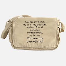 Cute My friend Messenger Bag