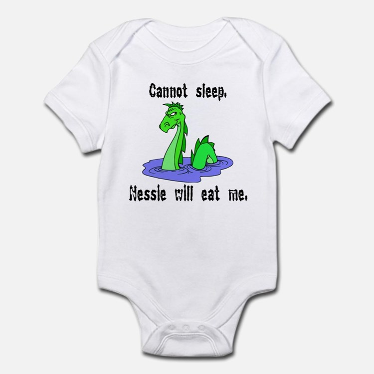 Nessie Will Eat Me Infant Bodysuit