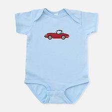Burgundy Infant Bodysuit