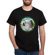 Unique Irish wolfhound art T-Shirt