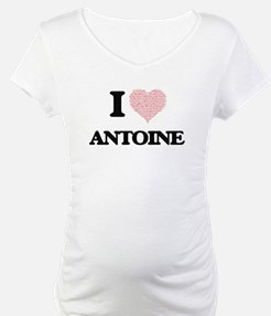 I Love Antoine (Heart Made from Shirt