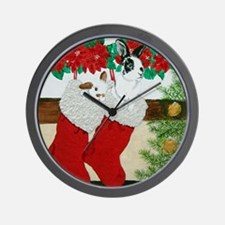 Were there any Treats in YOUR Stocking? Wall Clock