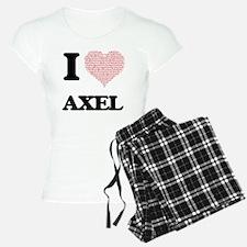 I Love Axel (Heart Made fro Pajamas