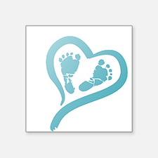 Baby Prints in Heart by LH Sticker