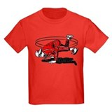 Breakdancing Kids T-shirts (Dark)