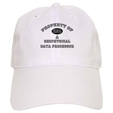 Property of a Geophysical Data Processor Baseball Cap