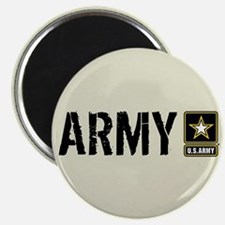 """U.S. Army: Army (Sand) 2.25"""" Magnet (10 pack)"""