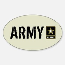 U.S. Army: Army (Sand) Decal