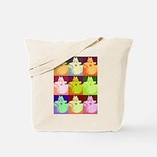 Snow Kitty Tote Bag