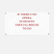 opera Banner