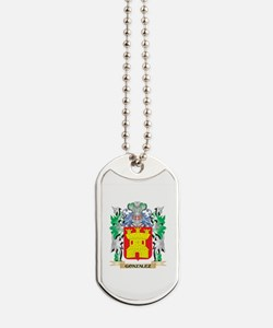 Gonzalez Coat of Arms (Family Crest) Dog Tags