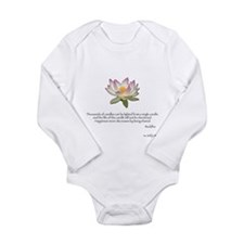 Cute Parent Long Sleeve Infant Bodysuit