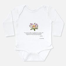 Cute Compassion Long Sleeve Infant Bodysuit