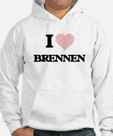 I Love Brennen (Heart Made from Hoodie