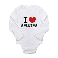 Funny Legendary creatures Long Sleeve Infant Bodysuit