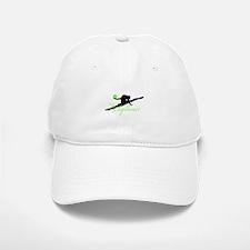 Green Rhythmic Gymnast Baseball Baseball Cap