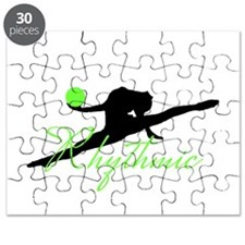 Green Rhythmic Gymnast Puzzle