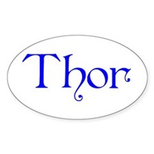 Thor Four Store Oval Decal