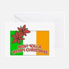 Irish Christmas Greeting Card