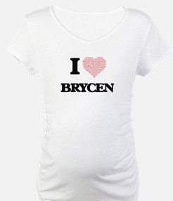 I Love Brycen (Heart Made from L Shirt
