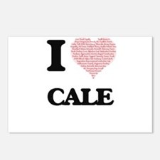 I Love Cale (Heart Made f Postcards (Package of 8)