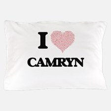 I Love Camryn (Heart Made from Love wo Pillow Case