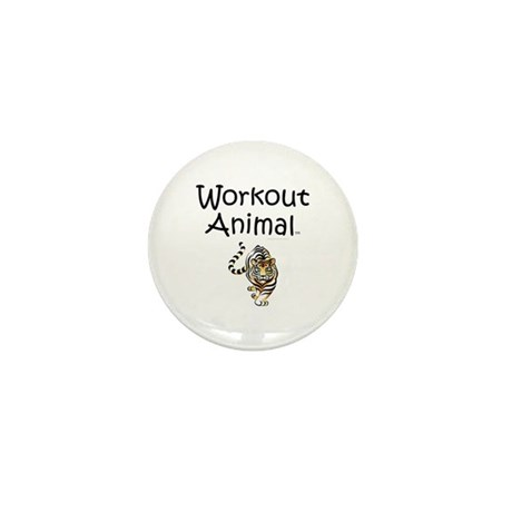 Workout Animal Mini Button (100 pack)