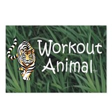 Workout Animal Postcards (Package of 8)