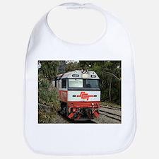 SCT train locomotive engine, Australia Bib