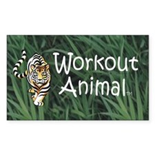 Workout Animal Decal