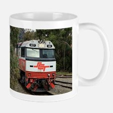 SCT train locomotive engine, Australia Mugs
