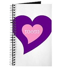Hearts design mom/mum Journal