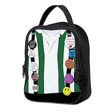 Flair on Suspenders Neoprene Lunch Bag