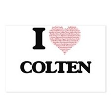 I Love Colten (Heart Made Postcards (Package of 8)