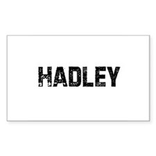 Hadley Rectangle Decal