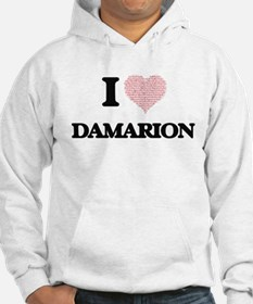 I Love Damarion (Heart Made from Hoodie
