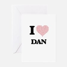 I Love Dan (Heart Made from Love wo Greeting Cards