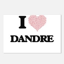 I Love Dandre (Heart Made Postcards (Package of 8)