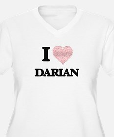 I Love Darian (Heart Made from L Plus Size T-Shirt