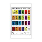 The Major Arcana Rectangle Sticker