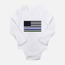 Cool Police Long Sleeve Infant Bodysuit