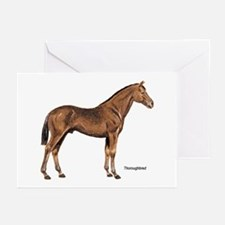 Thoroughbred Horse Greeting Cards (Pk of 10)