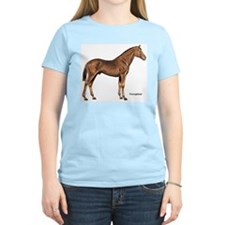 Thoroughbred Horse Women's Pink T-Shirt