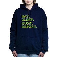 EAT. SLEEP. HUNT... Women's Hooded Sweatshirt