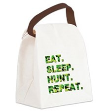 EAT. SLEEP. HUNT... Canvas Lunch Bag