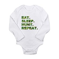 EAT. SLEEP. HUNT... Onesie Romper Suit