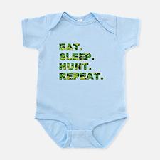 EAT. SLEEP. HUNT... Infant Bodysuit