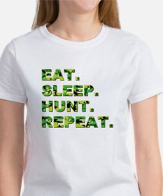 EAT. SLEEP. HUNT... Women's T-Shirt