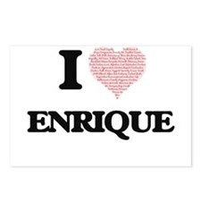 I Love Enrique (Heart Mad Postcards (Package of 8)