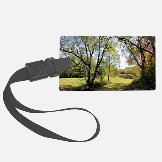 Out of the Woods Luggage Tag